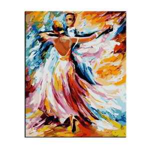 Ballroom Dancing - Number Painting - Science Factory