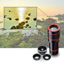 Telescoop Camera Lens (12X) | Telefoon Accessoires - Science Factory