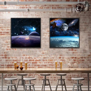 Space | Canvas Art - Science Factory