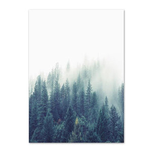 Nordic Woods | Canvas Art - Science Factory