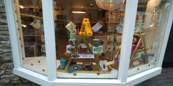 Planet Sal Honiton shop front - one window