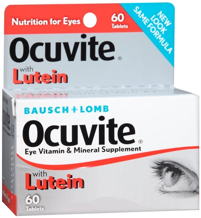 Bausch & Lomb Ocuvite PreserVision 60 Tablets