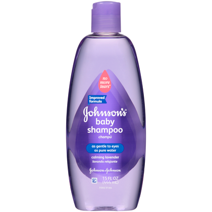 Johnson's Baby Shampoo With Calming Lavender