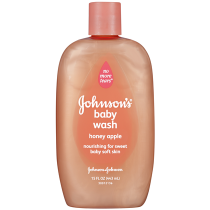JOHNSON'S baby Moisture Wash With Honey Apple