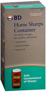 BD Home Sharps Container 1 Each