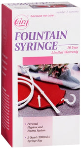 Cara Fountain Syringe Enema System