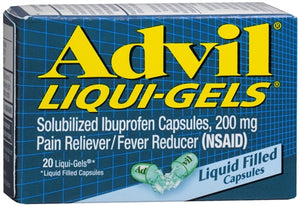 Advil 200 mg Liqui-Gels (1 Pack)