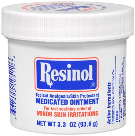 Resinol Medicated Ointment 3.3 Oz
