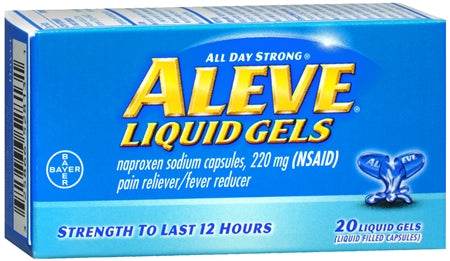 Aleve Liquid Gels 20 ea (1 Pack)