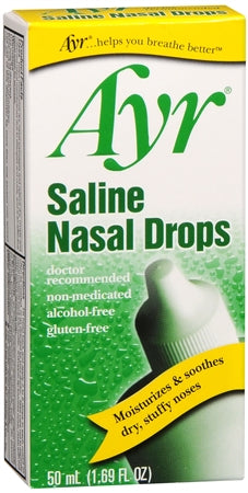 Ayr Saline Nasal Drops 50 mL