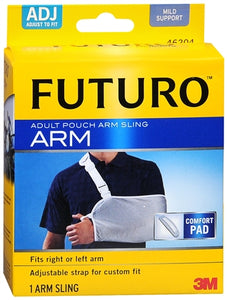 FUTURO Pouch Arm Sling Adult Adjust To Fit 1 Each