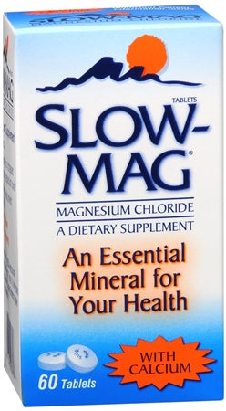 Slow-Mag Tablets With Calcium 60 Tablets