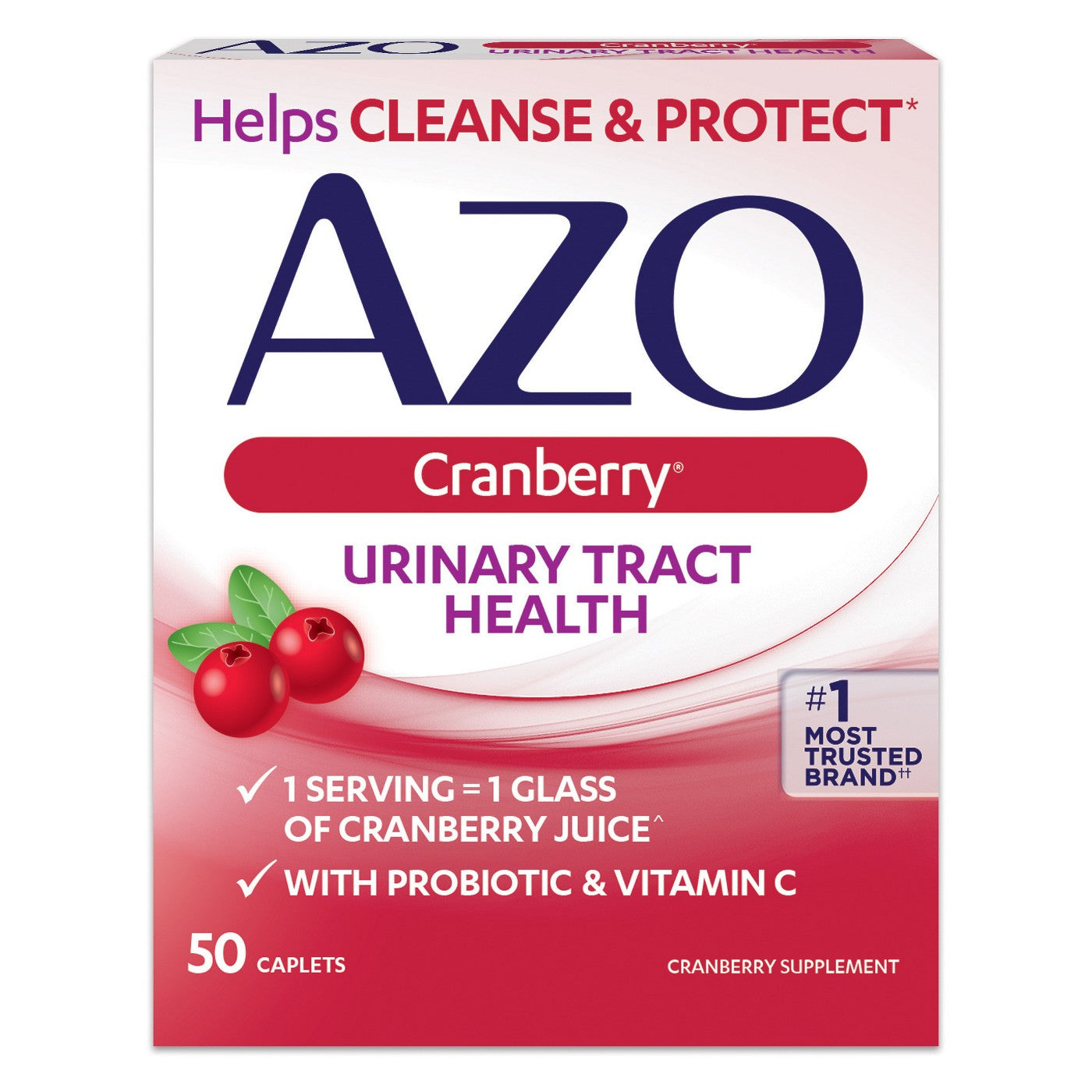 AZO Cranberry Bladder/UTI Treatment Caplets - 50ct