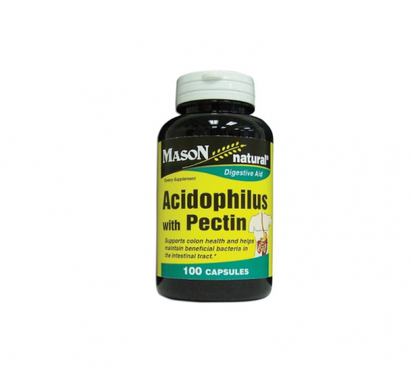 Mason Natural Acidophilus with Pectin Capsules 100 ea
