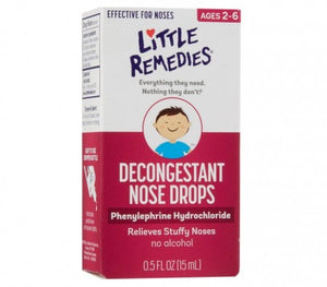 Little Noses Decongestant Nose Drops 0.50 oz