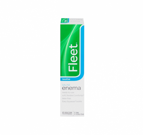 Fleet Saline Enema 4.50 oz (1 Pack)