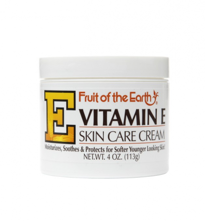 Fruit of the Earth Vitamin E Skin Care Cream 4 oz