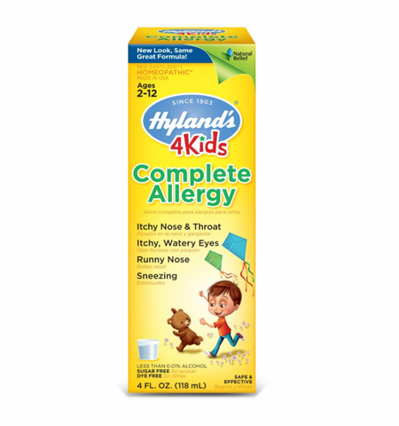 Hyland's Complete Allergy 4 Kids 4 oz