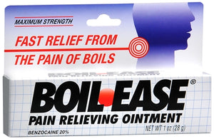 Boil-Ease Ointment Maximum Strength 1 oz (1 Pack)
