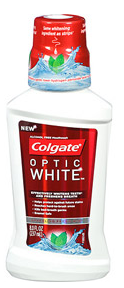 Colgate Optic White Mouthwash Sparkling Fresh Mint (1 Pack) 8.0 Fl oz