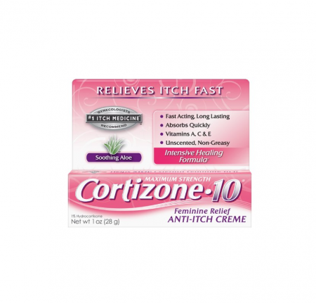 Cortizone-10 Feminine Relief Anti-Itch Creme 1 oz 1 Pack