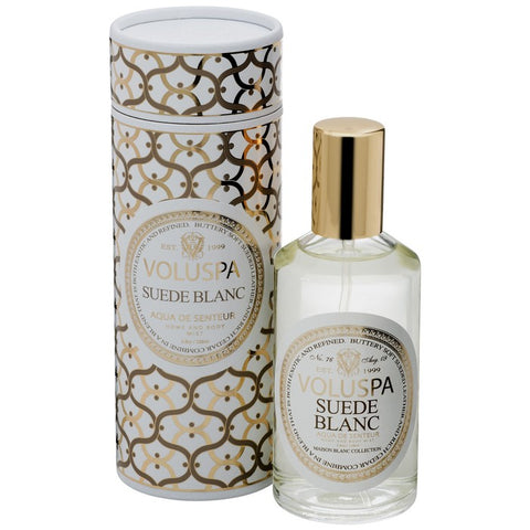 VOLUSPA - Suede Blanc Room & Body Spray
