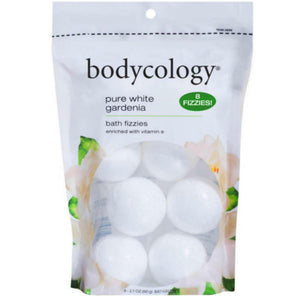 Bodycology Pure White Gardenia Bath Fizzies 2.1 oz