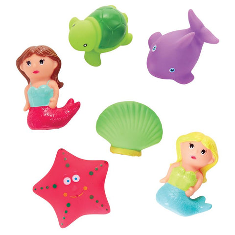 MERMAID BATH TOY SET