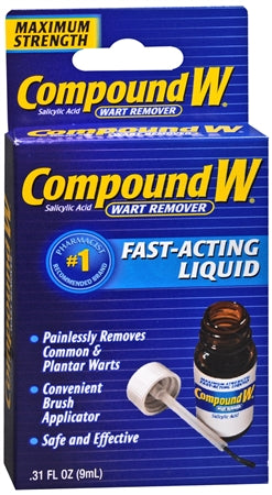 Compound W Maximum Strength, Fast-Acting Liquid 0.31 oz