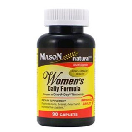 Mason Natural Womens Daily Formula   90 Caplets