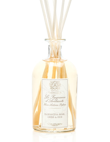 ANTICA FARMACISTA - 250ML DIFFUSER DAMASCENA ROSE, ORRIS & OUD