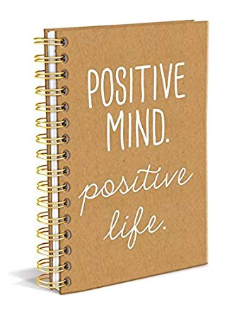 "Graphique ""positive Mind Positive Life"" Hardcover Journal"