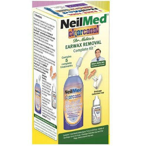 NeilMed ClearCanal Earwax Removal Complete Kit,