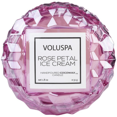 VOLUSPA - MACARON  Small Glass  Candle