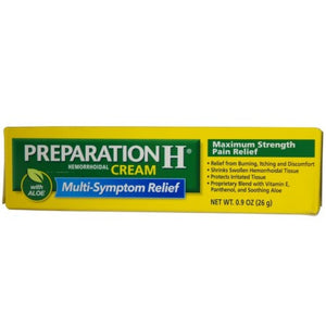Preparation H Cream 0.9oz