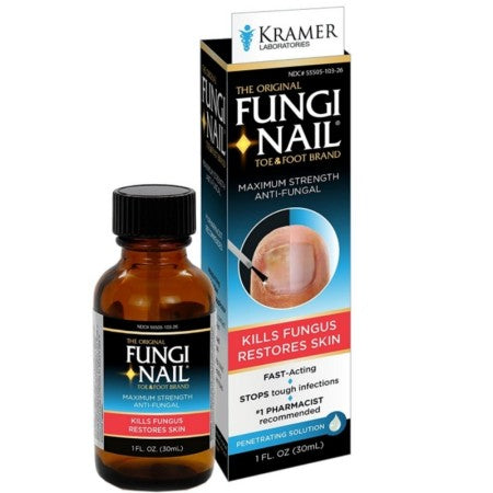 Fungi-Nail Brand Anti-Fungal Solution 1 oz (1 Pack)
