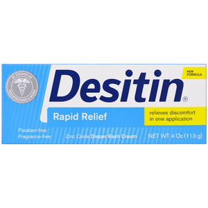Desitin Rapid Relief Creamy Diaper Rash Ointment