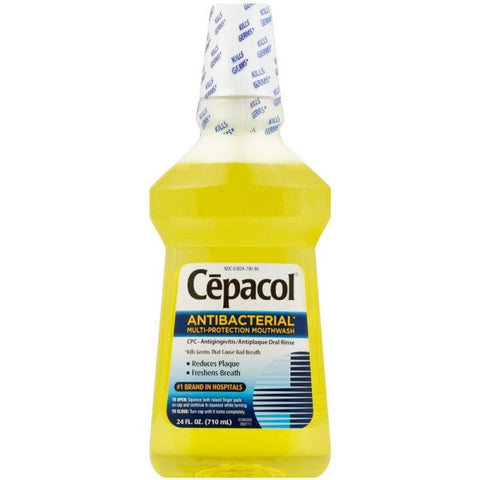 Cepacol Antibacterial Multi-Protection Mouthwash 24 oz (1 Pack)
