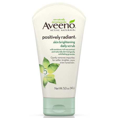 AVEENO Active Naturals Skin Brightening Daily Scrub 5 oz (1 Pack)