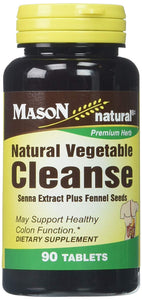 Mason Vitamins Natural Vegetable Cleanse Tablets, 60 Count