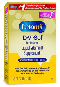 Enfamil D-Vi-Sol Vitamin D Supplement Drops 50 mL