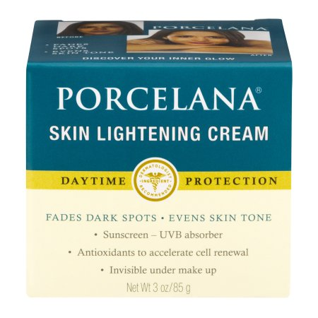 Porcelana Skin Lightening Day Cream and Fade Dark Spots Treatment,
