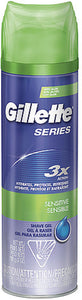 Gillette Series Shaving Gel Sensitive Skin 7 oz