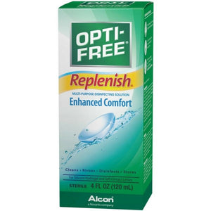 OPTI-FREE Replenish Multi-Purpose Disinfecting Solution 4 oz