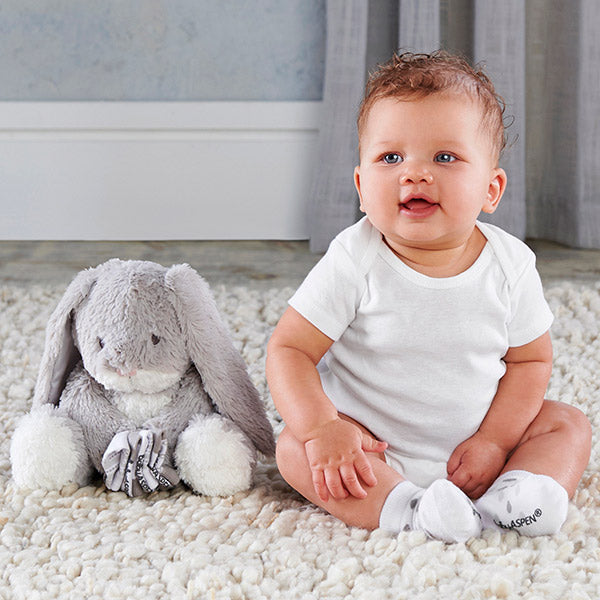 Bailey the Bunny Plush Plus Socks for Baby