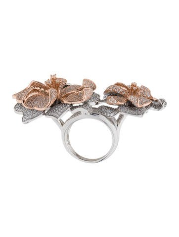 Narcisse Double Ring