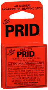 Prid Homeopathic Salve 18 g (1 Pack)