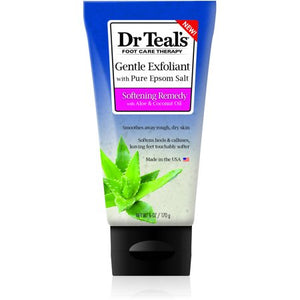 Dr. Teals Foot Scrub W/Aloe & Coconut Oil 6 oz