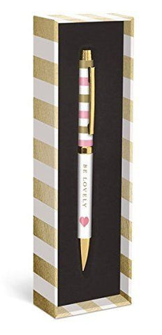 Graphique  Gold Heart Be Lovely Pen