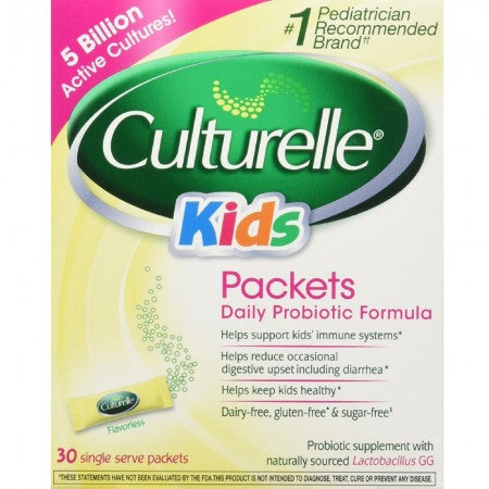 Culturelle Kids Packets Daily Probiotic Supplement 30 ea (1 Pack)